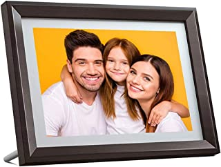 10.1 Inch WiFi Digital Photo Frame, LED Screen IPS HD Touch Screen, Photo Frame for Sharing Photos Via Email Application