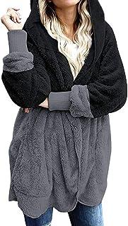 Abrigo Mujer Invierno Rebajas Logobeing Chaqueta Abrigo Mujer Invierno Talla Grande Jerséis, Cárdigans y Sudaderas con Cap...