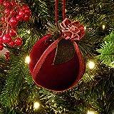 Bola de Navidad, Bola para árbol, Fiesta Navidad Bola Adornos árbol Navidad Rustco...