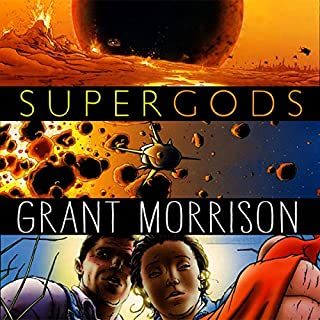 Supergods audiobook cover art