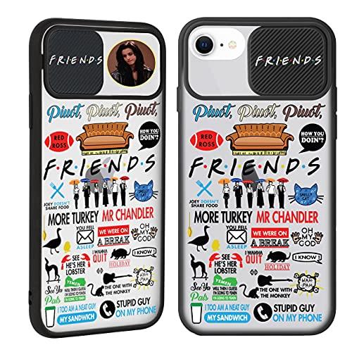 "Joyleop Friends Case for iPhone 6/6S/7/8/SE 2020 4.7"",Trendy Cover Unique Design Fun Funny Cool Designer Aesthetic Fashion Stylish Pretty Cases for Girls Boys Men Women for iPhone 6/6S/7/8/SE 2020"
