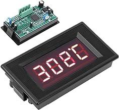 Esenlong Medidor de Temperatura de Termopar Tipo K de Precisión de Pantalla Digital Industrial 220V Dyg-5135 Negro
