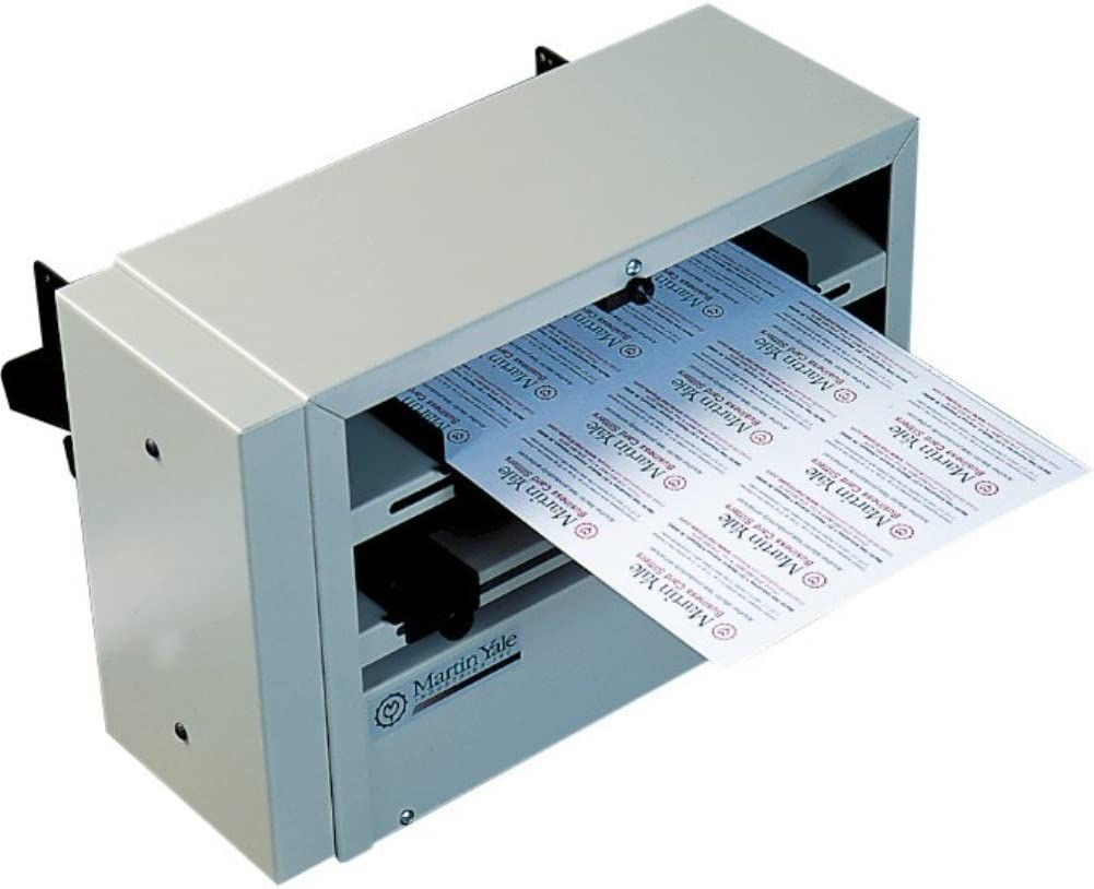 Martin Yale BCS212 Desktop Phoenix Mall 12-up Business Slitter Super beauty product restock quality top! Card Continuo