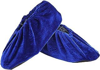 Heaviesk Einweg-Schuh/überzieher blau Regenschuhe und Stiefel /Überschuhe Kunststoff Lange Schuh/überzieher klar Wasserdicht Anti-Rutsch /Überschuh