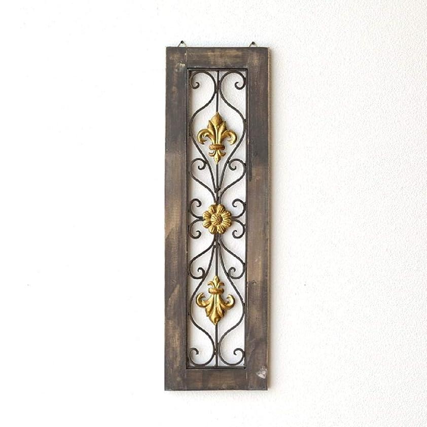 明示的に曖昧なランチ壁飾り アンティーク アートパネル 壁掛け インテリア アイアンのウォールデコ フレームB [mty4695]