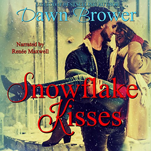 Snowflake Kisses audiobook cover art