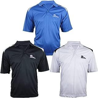 Palm Springs Golf Men's Tour Pro Polo Shirt, 3-Pack