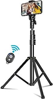 Cocoda Palo Selfie Tripode 133cm Tripode para Movil Bluetooth Extensible Todo en Uno con Control Remoto Selfie Stick para iPhone 11 Pro Max/11/Xs MAX/XR/X Galaxy S20/S10 Cámara Gopro Vivir Más