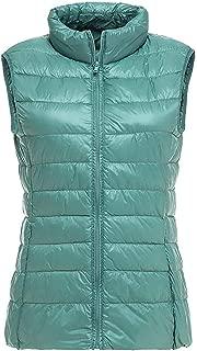 Surprise S Women Vest Sleeveless Coat Ultra Light White Duck Down Vest Indoor Slim Fit Warm Waistcoat