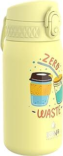 Ion8 Botella Agua Acero Inoxidable Termica Sin Fugas, 320ml, Cero Desperdicio