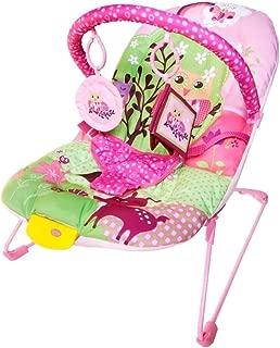 Cadeira de Descanso Musical e Vibratória Soft Ballagio Color Baby Rosa