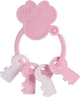 Disney Minnie Mouse Key Shape Keyring Teether