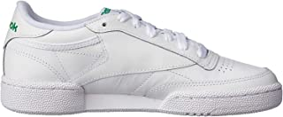 Reebok Men's Club C 85 Trainers, Intense White/Green
