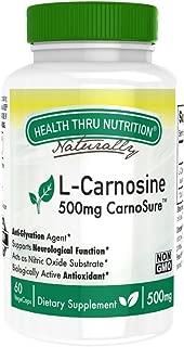 L-Carnosine 500mg as CarnoSure (60 vegecaps) Non-GMO