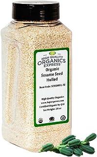 Sponsored Ad - HQOExpress | Organic Sesame Seed | 20 oz. Chef Jar