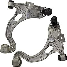 Detroit Axle - Both (2) Front Lower Control Arm and Ball Joint Assembly for 00-05 LeSabre - [98-05 Park Avenue] - 00-05 Deville 5-Lug - 98-04 SeVille - [98-04 SLS] - 98-01 Aurora - [00-05 Bonneville]