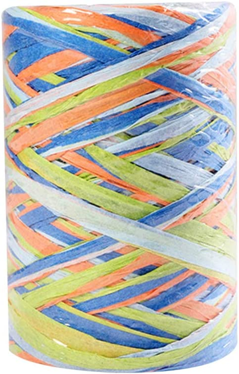 HEALLILY 1 Roll Raffia Paper String for Cheap Rope Cord Sale Special Price Ribbon Craft D