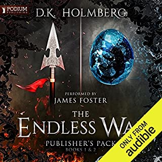 The Endless War audiobook cover art