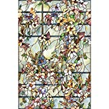 ARTSCAPE–Lámina para Ventana de celosía de película 61x 92cm, Vinilo, Color Verde, 91,4x 61x 0,02cm