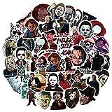 Horror Movie Killer Stickers 50PCS Waterproof...