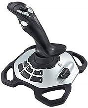 Logitech G Extreme 3D Pro Joystick, Controllo Timone a Rotazione, 12 Pulsanti Programmabili, Comando Hat Switch a 8 Direz...