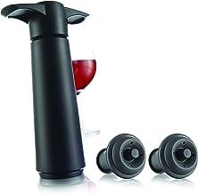 Vacu Vin Wine Saver Pack Wine Saver Set, Black, VV0981B
