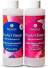 ProMarine Supplies Art Resin –16 Oz. Kit Pro Art Resin Kit – Art Resin Epoxy Clear – Easy to Use – High Gloss Intense Shine – Ideal for Photography, Wood, Artwork