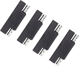 iGreely SAE Polarity Reverse Adapter, 4Pack SAE to SAE Extension Cable Quick Disconnect Wire Harness SAE Connector