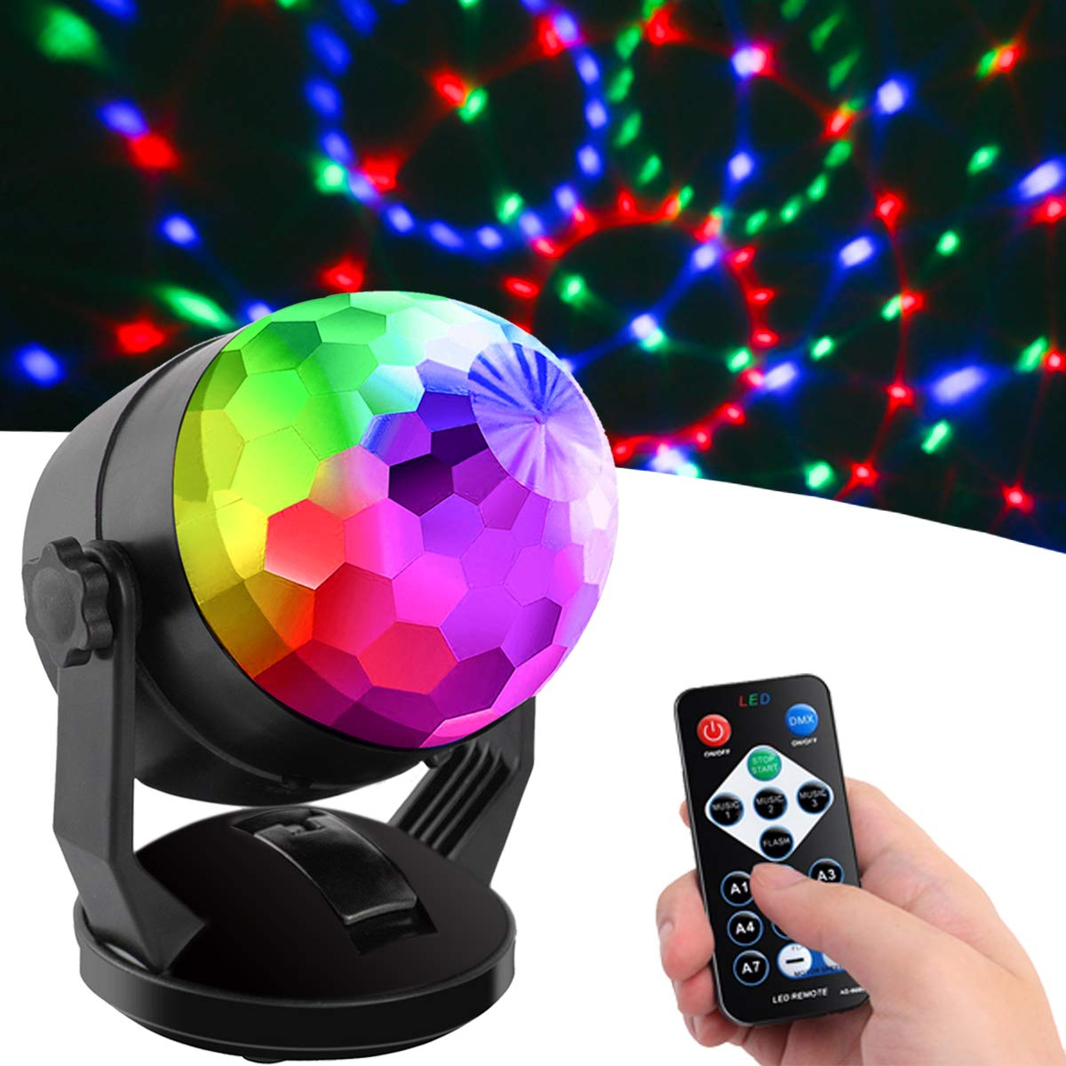 Activated Control Portable Lighting Birthday