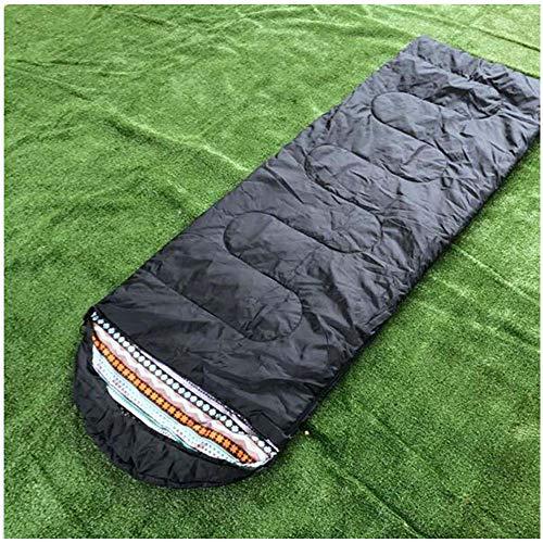 Guotail Impermeabile Sacco a Pelo Esterno Campeggio Adulto Busta Modello Ispessimento Caldo Isolamento Durevole Campeggio