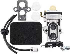 Kizut WYA-24 Carburetor w Air Filter for RedMax EBZ4800 EBZ5000 EBZ4800RH EBZ5000RH EBZ5000Q Kawasaki TJ53E Red Max Leaf Blower Fuel Line Filter Tune Up Kit