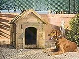 Caseta de Perro Madera Jardin Estándar