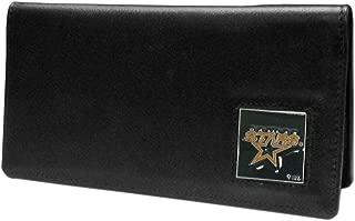 Siskiyou NHL Executive Genuine Leather Checkbook Cover