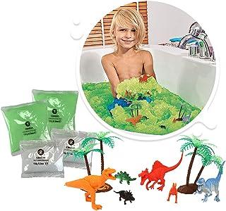 zimpli kids 6555 Play Set, Green, Dino Swamp Bundle