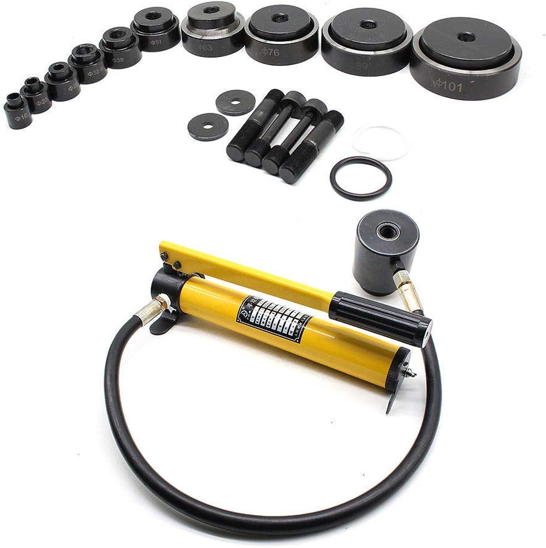 Blechlocher Lochstanze Zylinder Hydraulikpumpe Set im Koffer 15t Hydraulisch Hydraulisch Hydraulisch Cutting Die 16mm - 101mm B07JMLVM48 | Auf Verkauf  647a05