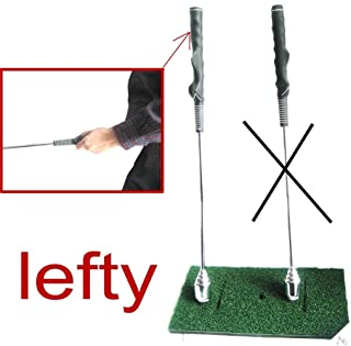 A99 Golf Warm up Swing Trainer Stick Practice Club Aid Grip Tempo Trainer New Left/Right Hand