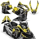 Ski Doo Rev XP 2008-2012 Decal Graphic Kit Sled Snowmobile Wrap Skidoo REAPER...