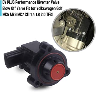 Godyluck DV PLUS Performance Diverter Valve Blow Off Valve Fit for Volkswagen Golf MK5 Mk6 MK7 GTI 1.4 1.8 2.0 TFSI