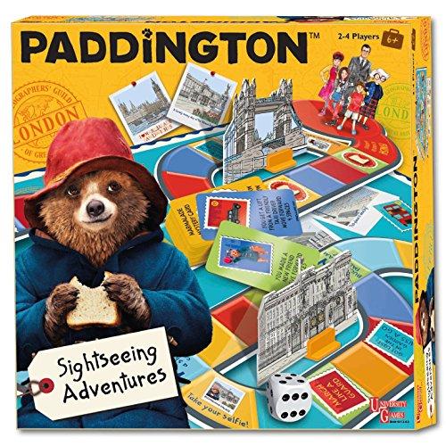 University Games Paddington Bear - Juego de Mesa de películas para Viajes turísticos y Aventuras para niños de 5 años más