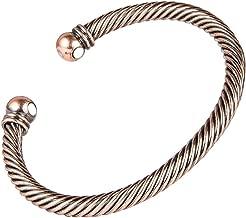 Sunwing BLACK COLOR Pure Copper Alloy Torque Healthy Magnetic Power Bracelet Bangle Adjustable C10