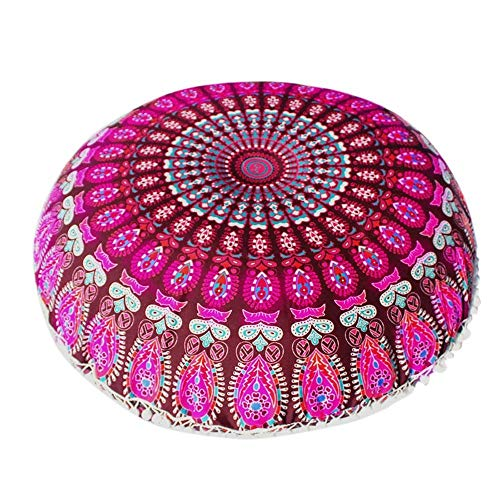 VJGOAL Indisches Mandala Rund Bohemian...
