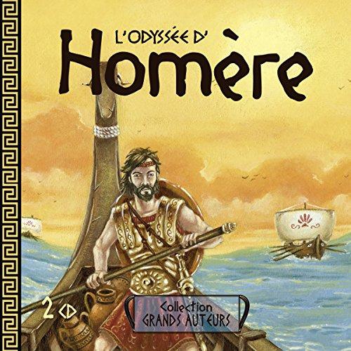 L'Odyssée d'Homère audiobook cover art