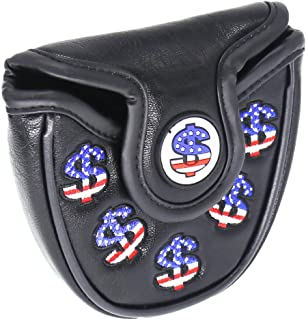HISTAR Cash Money Mallet Putter Cover Headcover for Scotty Cameron Odyssey 2ball