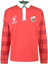 Wales Rugby World Cup 2019 Team Jersey Mens Red Fan Top Shirt Sportswear