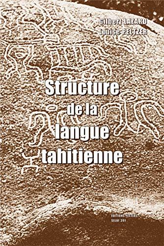 Structure De La Langue Tahitienne: Selaf No. 391