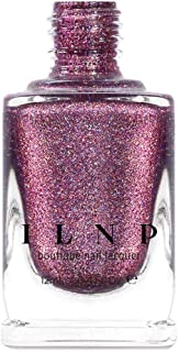 ILNP No Promises - Dark Amaranth Pink Holographic Nail Polish