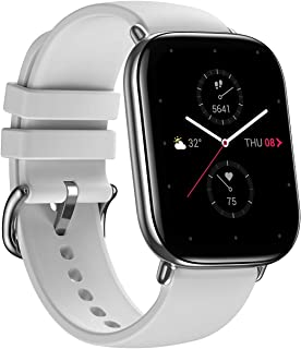 Zepp E Square Smart Watch Health and Fitness Tacker with Heart Rate, SpO2 and REM Sleep Monitoring, Stainless Steel Body, ...