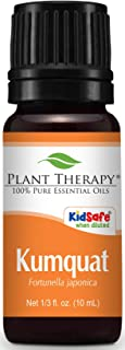Plant Therapy Kumquat Essential Oil 10 mL (1/3 oz) 100% Pure, Undiluted, Therapeutic Grade