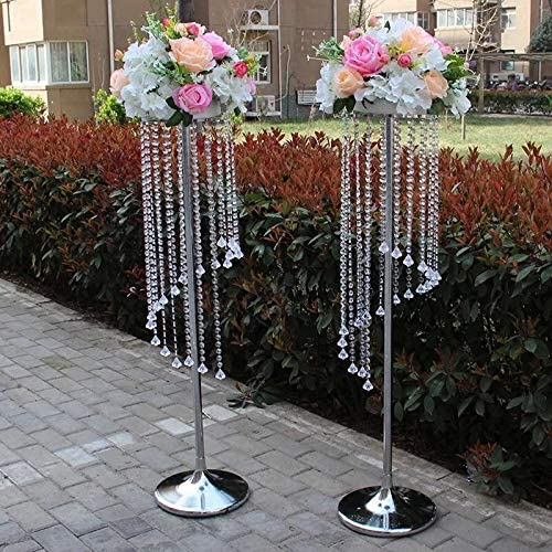 Complete Free Shipping EVERBON Pack of 10 43.3 Inches depot Wedding Chandeliers Tall C Flower