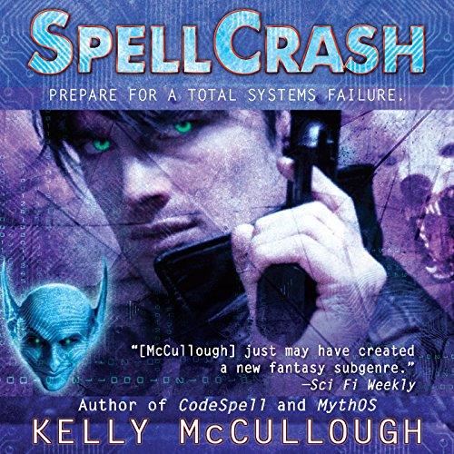 Spellcrash audiobook cover art